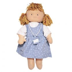 Baby Doll with Embroidered Logo