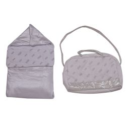 GF Ferre Sleeping Bag & Nursery Bag - Silver