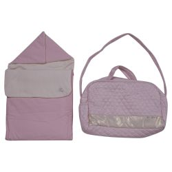 Pink Sleeping Bag & Nursery Bag