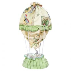Green Hot Air Balloon Table Lamp