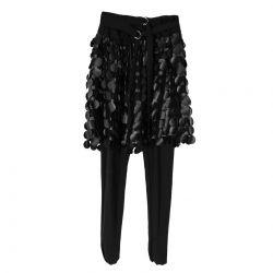 Black Skirt and Legging