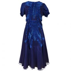 Dark Ocean Blue Formal Dress
