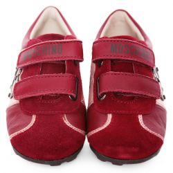 Red Shoes with Heart Design