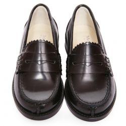 Black Smart Leather Shoes