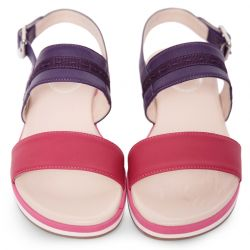 Pink & Purple Sandal