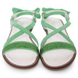 Green Summer Sandals