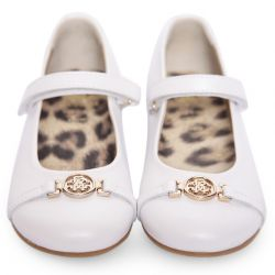 SHOES WHITE RCAVALLI