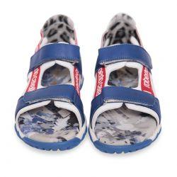 Blue Open Toe Sandals