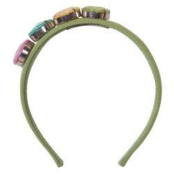 Quis Quis Headband - Green