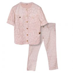 Pink Shirt and Trousers