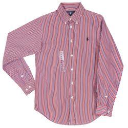 Ralph Lauren T-Shirt Long Sleeves - Red