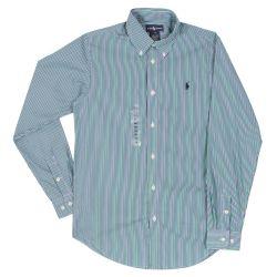 Ralph Lauren T-Shirt Long Sleeves - Green