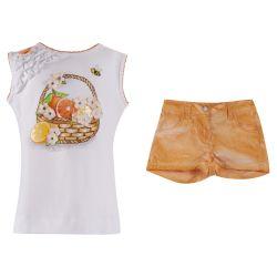 Monnalisa Top With Shorts