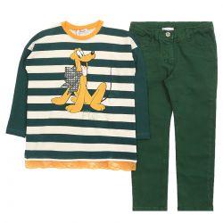 Monnalisa SweaT-Shirt With Pants
