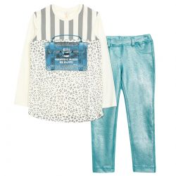 Microbe Top With Trouser