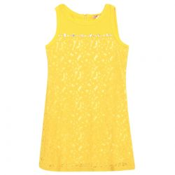 Monnalisa Dress - Yellow