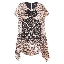Multicolored Leopard Dress