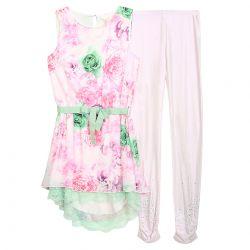 Miss Grant Dress & Legging - Pink