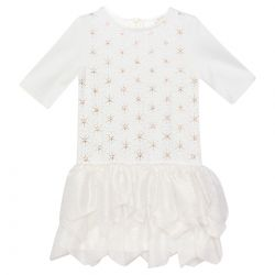 White Star Design Dress