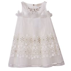 Quis Quis Dress - White