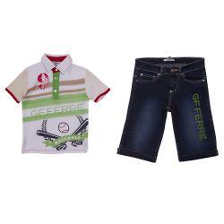 GF Ferre Polo Shirt & Bermuda Shorts