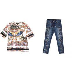 TShirt+Jeans R.Cavalli