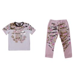 Roberto Cavalli T-Shirt & Pants - White