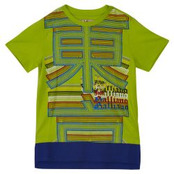 John Galliano T-Shirt & Bermuda Shorts - Green