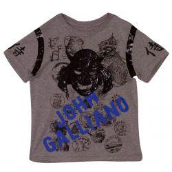 John Galliano T-Shirt with Bermuda