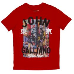 John Galliano T-Shirt - Red