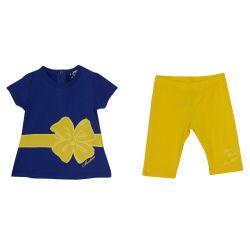 Moschino T-Shirt & Shorts - Purple