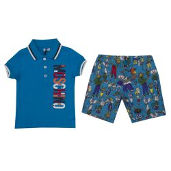 Polo & Shorts by Moschino