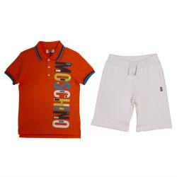 Moschino Polo & Bermuda Shorts