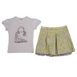 Miss Grant T-Shirt with Skirt