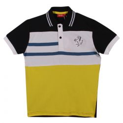 Black and Yellow Polo Shirt