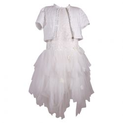 Aletta Dress with Jacket - Off White