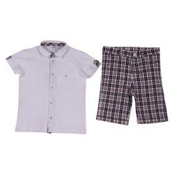 Polo & Bermuda Shorts by Aletta