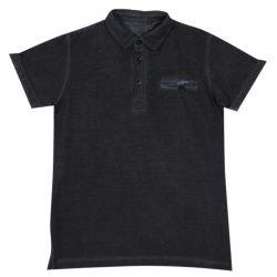 Aletta Polo Shirt - Black