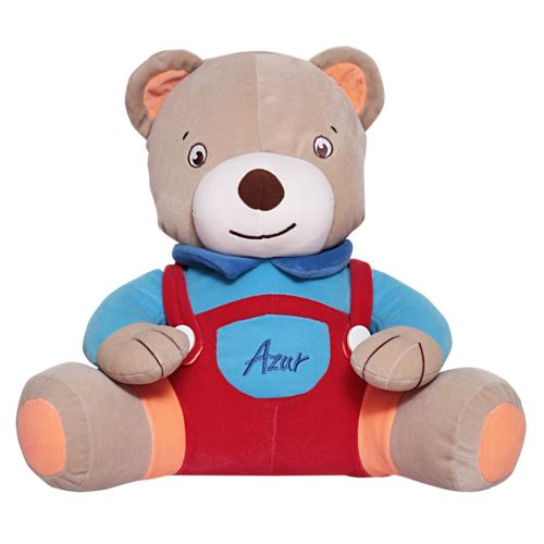 Multicolored Teddy Bear Stuffed Toy