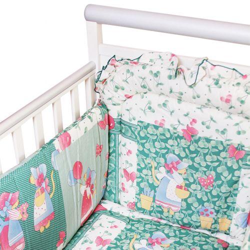 """Green """"Butterflies - Balloon"""" Design Bedding Cover Set"""