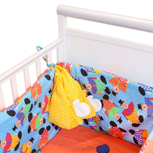 Multicolored Polka Dot - Clown Design Bedding Cover Set