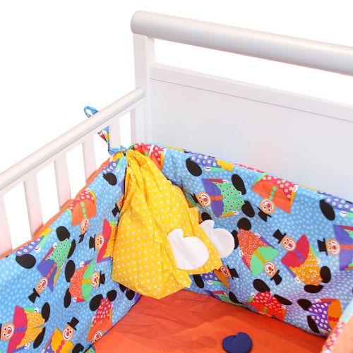 Multicolored Polka Dot - Clown Design Bedding Cover Set