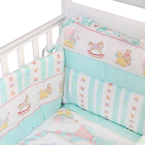 Multicolored Bedding Cover Set