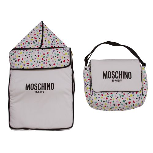 Multicolored Sleeping Bag & Nursery Bag