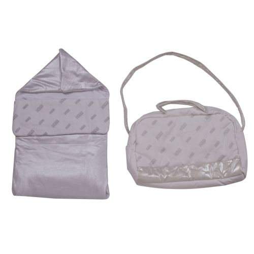 Silver Sleeping Bag & Nursery Bag