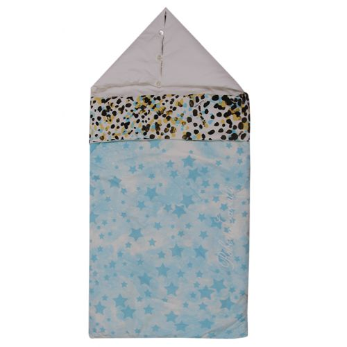 Light Blue Star Sleeping Bag