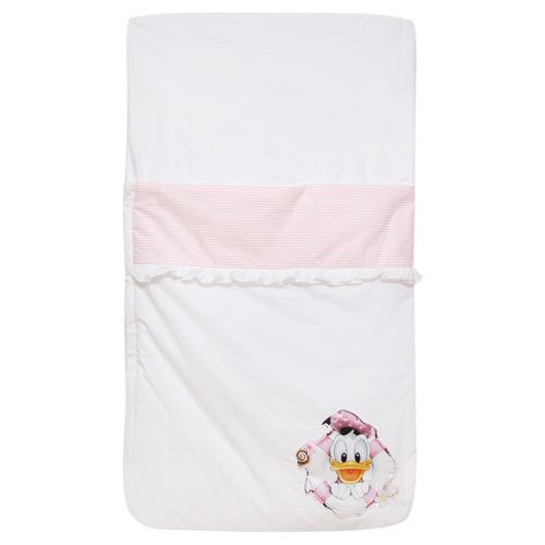 Pink & White Donald Duck Sleeping Bag