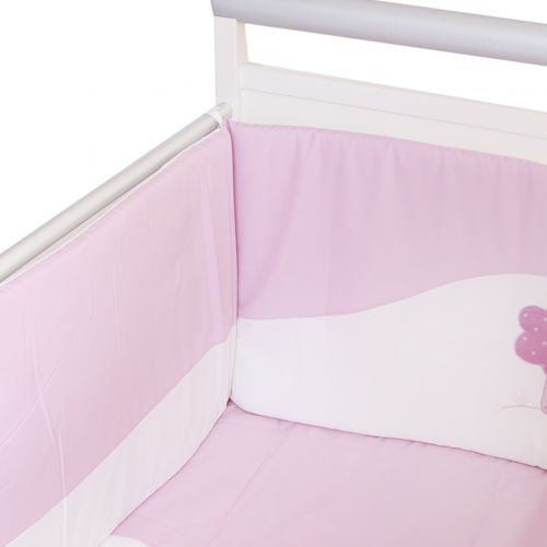 "Pink ""Tree"" Bedding Cover Set"