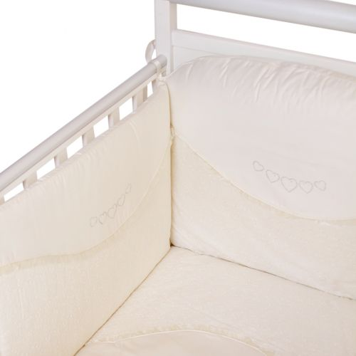 Ivory Heart Style Bedding Cover Set