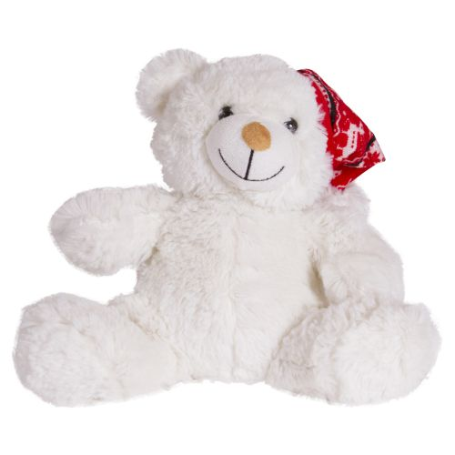 White Teddy Bear Stuffed Toy
